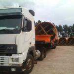 Empresas de transporte de maquinaria pesada