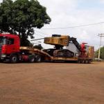 Empresas de transporte de máquinas