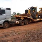 Transportadora de máquinas pesadas em sp