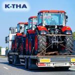 Transporte de maquinas industriais