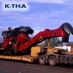 Transportadora de maquinas pesadas