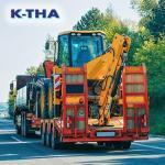 Carreta para transporte de maquinas agricolas