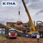 Transporte de equipamentos pesados