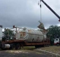 Transporte de grandes equipamentos