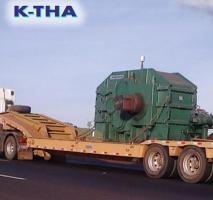 Transporte de peças pesadas